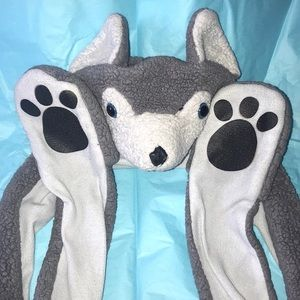 Other - Plush wolf 🐺 hat